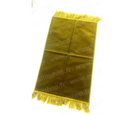 Tapis de Prière pour Enfant uni - Coloris Vert anis - Format 87x48cm