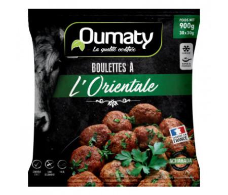Boulette à l'Orientale Halal certifié Achahada 900g (30x30g) - Oumaty