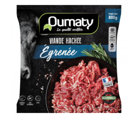 Viande hachée Égrenée Halal certifié Achahada 800g - Oumaty