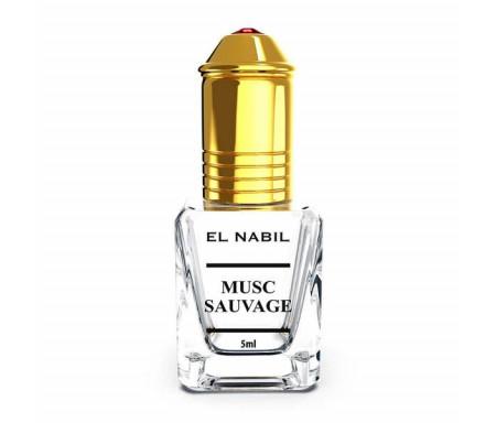 Parfum Musc Sauvage El Nabil - 5 ml