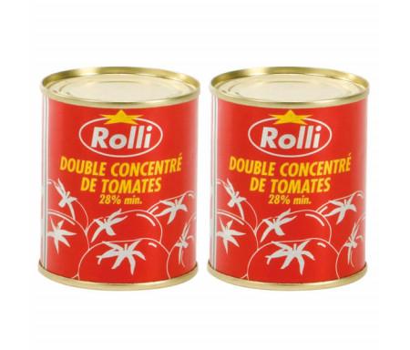 Double concentré de Tomates ROLLI en conserve - 175gr