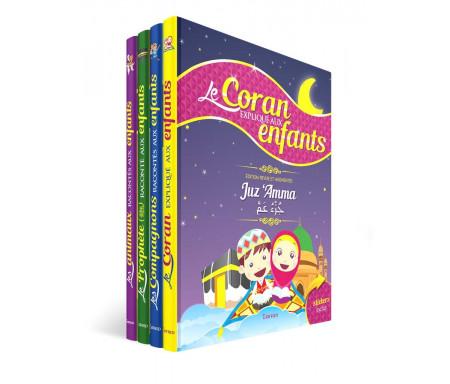 Pack Le Coran, la Vie du Prophète ﷺ et des Compagnons expliqués aux Enfants