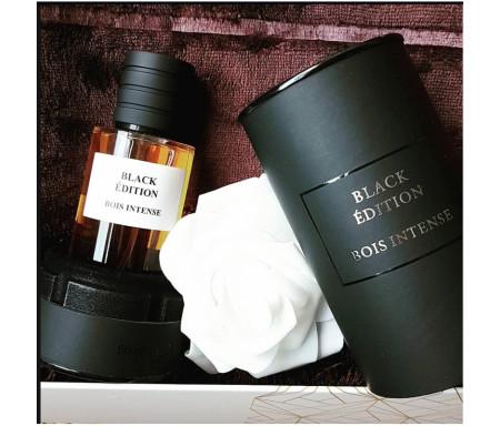 """Parfum Musc Premium """"Black Edition"""" Senteur Bois - 50ml"""
