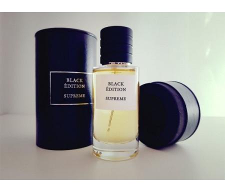 """Parfum Musc Premium """"Black Edition"""" Senteur Suprême - 50ml"""