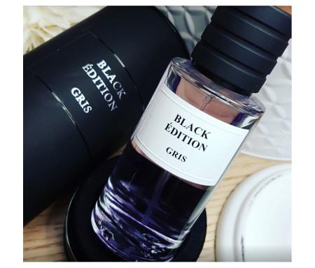 "Parfum Musc Premium ""Black Edition"" Senteur Gris- 50ml"