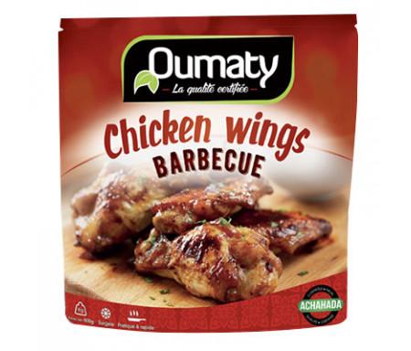 Chicken Wings Barbecue au Poulet Halal certifié Achahada - Sachet 800gr (surgelé) - Oumaty