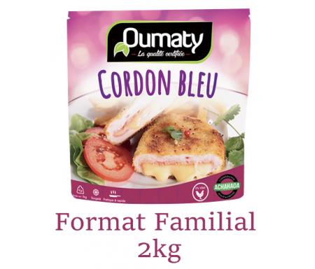 """Cordon Bleu """"Le Délicieux"""" au Poulet Halal certifié Achahada - Pack Familial 2kg (surgelé) - Oumaty"""