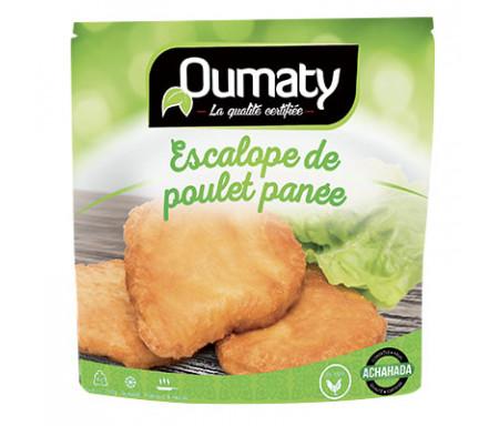 Escalopes panées de Poulet Halal certifié Achahada - Sachet 770gr (surgelé) - Oumaty