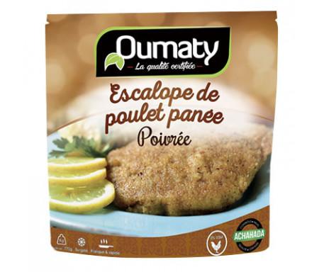 Escalopes panées poivrées de Poulet Halal certifié Achahada - Sachet 770gr (surgelé) - Oumaty