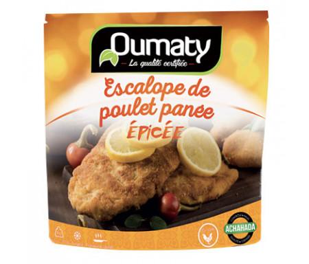 Escalopes panées épicées de Poulet Halal certifié Achahada - Sachet 770gr (surgelé) - Oumaty