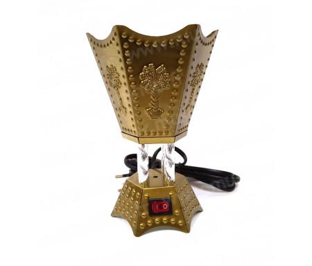 Modifier : Brûleur d'encens / encensoir électrique en métal bronze