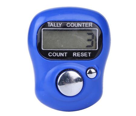 Tasbih Chapelet compteur Electronique LCD - Bleu