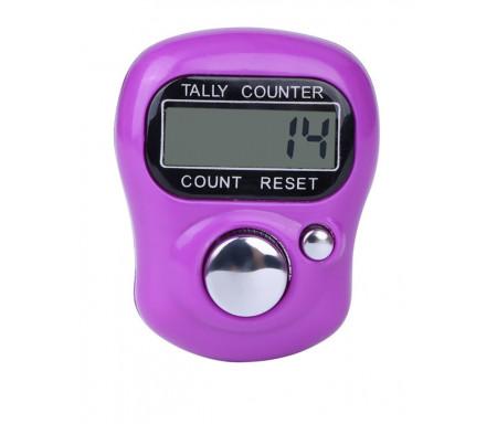 Tasbih Chapelet compteur Electronique LCD - Violet