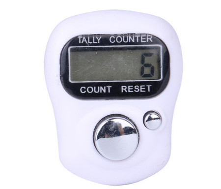 Tasbih Chapelet compteur Electronique LCD - Noir