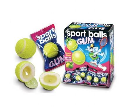 Balles de Tennis en Chewing gum Halal 5gr - FINI