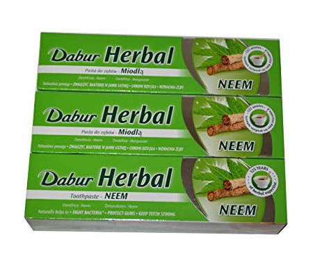 Dentifrice au Neem Herbal sans Fluor - 155gr