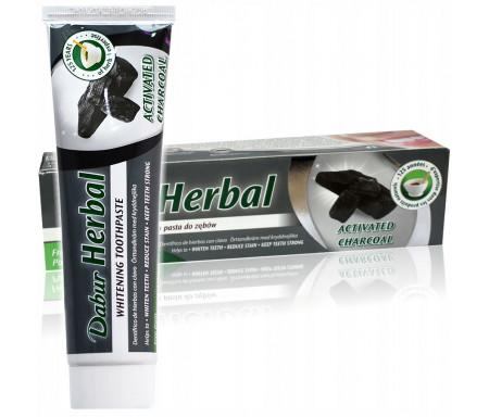 Dentifrice au Charbon actif Herbal sans Fluor - 155gr