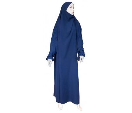 Jilbab Al-Haramayn une (1) pièce - Couleur bleue Marine