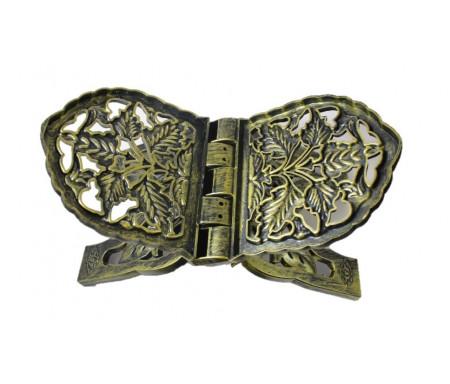 Porte Coran de couleur noir doré (effet cuivre)