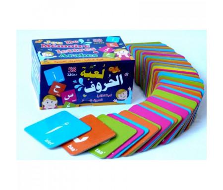 Jeu de mémoire - Lettres arabes 58 cartes