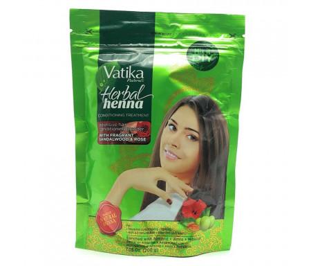 Henné naturel à l'extrait de santal et de rose pour Coloration des Cheveux et peau - Traitement revitalisant 200gr