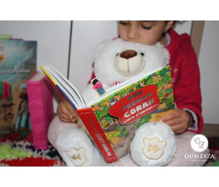 Pack Enfants (3-10 ans) : Mon Nounours Hamza + Mon Premier Coran