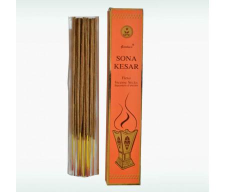 """Bâtonnets d'encens au Sandal """"Sona Kesar"""" (Incense Sticks) en bâtonnets - 180gr"""