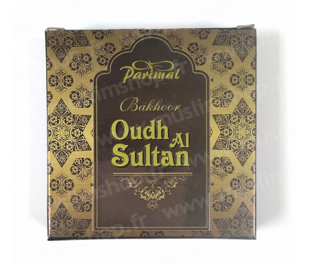 """Encens Bakhour carré """"Oud Al-Sultan"""" Parimal Original"""