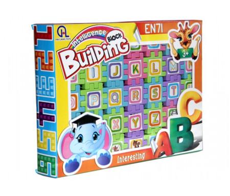 Jeux de briques pour apprendre l'alphabet Français - Intelligence building block