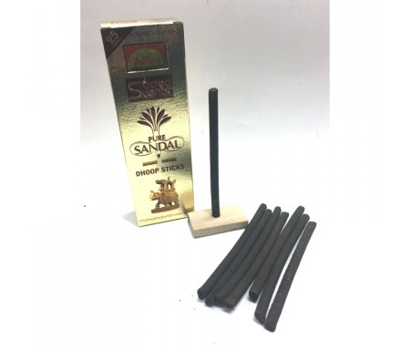 Encens Naturel Pure Sandal - Dhoop Sticks 25 gr (Incense Sticks)