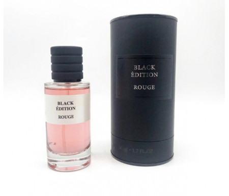 "Parfum Musc Premium ""Black Edition"" Senteur Rouge - 50ml"