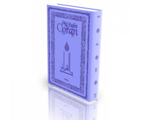 Le Coran - Traduit et annoté par Abdallah Penot - Couverture Daim cartonnée et bordure dorée - Coloris Noir