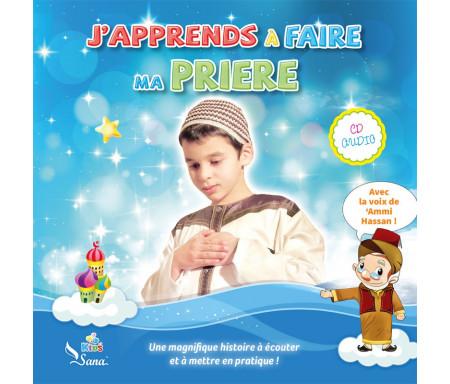 """CD """"J'apprends à faire ma Prière"""" pour garçon"""