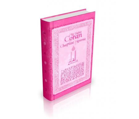 Chapitre Amma format poche - Couverture cartonnée - Français / Arabe / Phonétique - Couleur rose