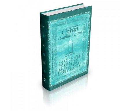 Chapitre Amma format poche - Couverture cartonnée - Français / Arabe / Phonétique - Couleur bleue
