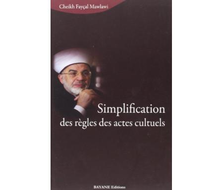Simplification des règles des actes cultuels