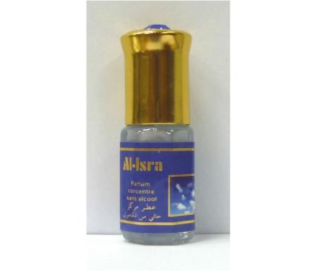 """Parfum concentré sans alcool Musc d'Or """"Al-Isra"""" (3 ml) - Mixte"""