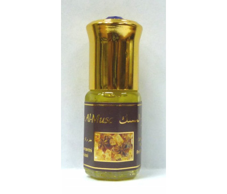 """Parfum concentré sans alcool Musc d'Or """"Rouh Al-Musc"""" (3 ml) - Mixte"""