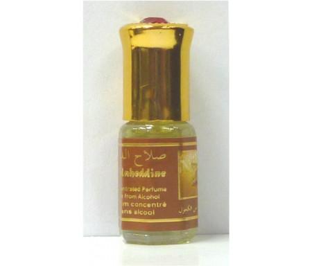 """Parfum concentré sans alcool Musc d'Or """"Salaheddine"""" (3 ml) - Pour hommes"""