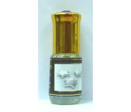 """Parfum concentré sans alcool Musc d'Or """"Silver Stars"""" (3 ml) - Pour hommes"""
