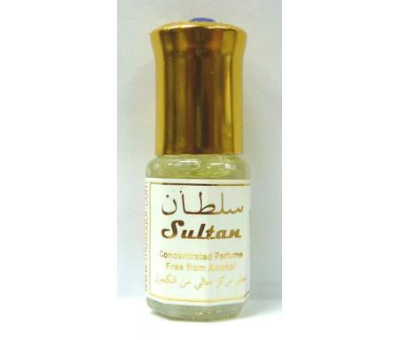 """Parfum concentré sans alcool Musc d'Or """"Sultan"""" (3 ml) - Pour hommes"""