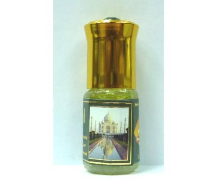 """Parfum concentré sans alcool Musc d'Or """"Taj Mahal"""" (3 ml) - Pour hommes"""