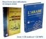 Pack de deux livres pour débutants en langue arabe : La Méthode de Médine + L'arabe pour les francophones (avec 2 CD)