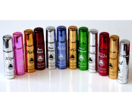Pack découverte de 12 parfums différents de la marque Musc d'Or - Edition de Luxe (12 x 8 ml)