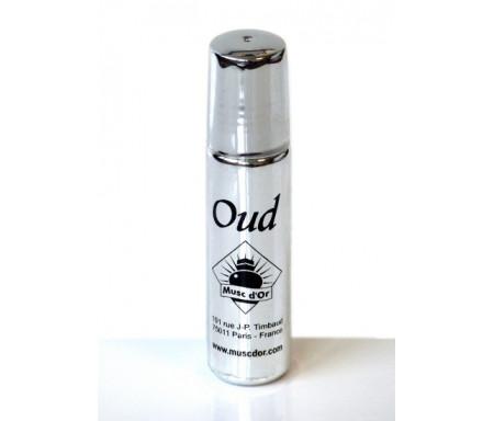 """Parfum concentré Musc d'Or Edition de Luxe """"Oud"""" (8 ml) - Pour hommes"""