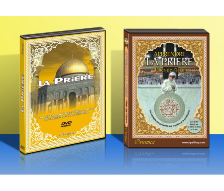 Pack DVD + CD-ROM La prière