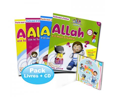 Pack Série Parle-moi d'Allah (4 livres + 1 CD)