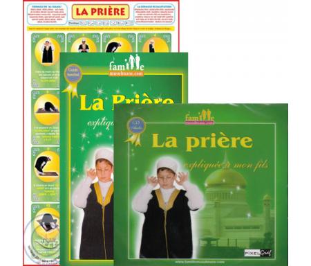 Pack La prière expliquée à mon Fils (Livre + CD + poster +Tapis enfant)