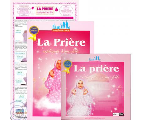Pack : La prière expliquée à ma fille (Livre + CD + Poster + Tapis enfant)