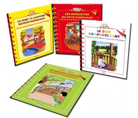 Pack Collection du petit Hicham (4 livres)